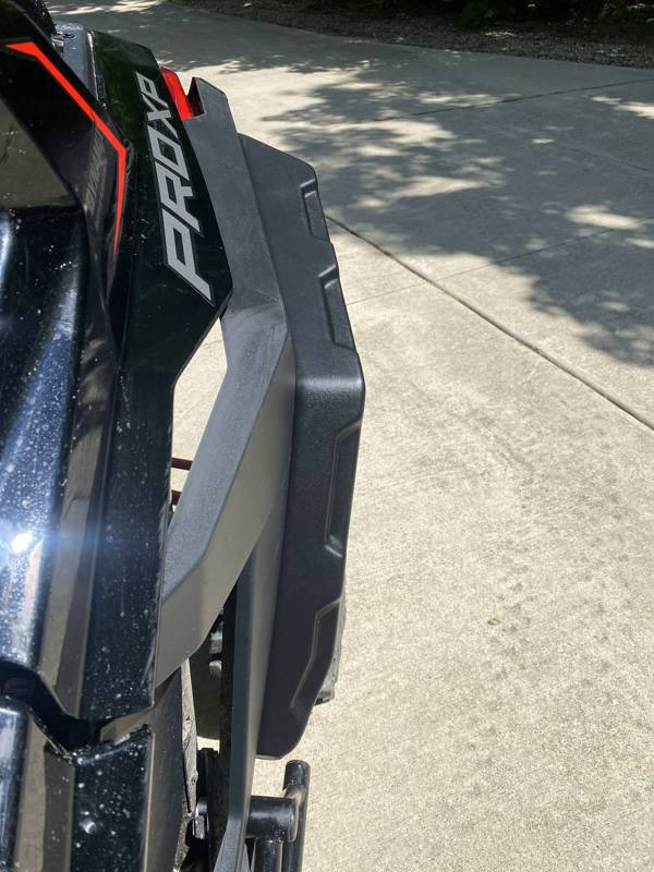 Polaris Rzr Pro Xp Fender Extensions, Set Of 4