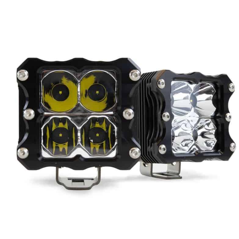 Heretic 6 Series Led Quattro Cube Lights
