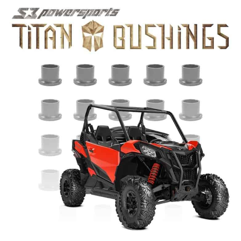 Can-am Maverick A-arm Bushing Kit, Trail And Sport.
