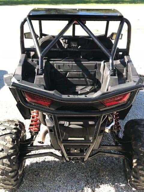 Polaris Rzr Xp Series Rear Bumper, Full Protection