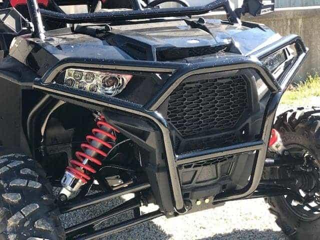 Polaris Rzr Xp Series Full Protection Front Bumper