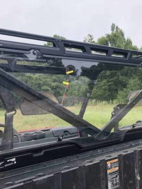Polaris Ranger Rear Window Dust Shield