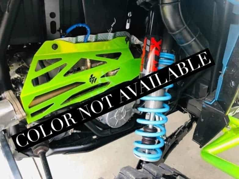 Polaris Rzr Xp Turbo Series Exhaust Cover