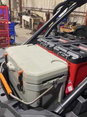Polaris Rzr Xp Series Tool Box Mount Plate