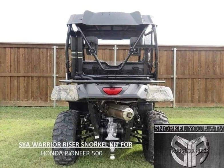 Honda Pioneer 500 Snorkel Kit, Warrior Edition