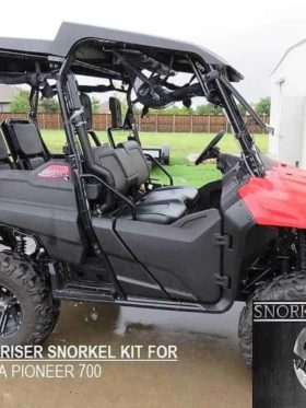 Honda Pioneer 700 Snorkel Kit, Warrior Edition