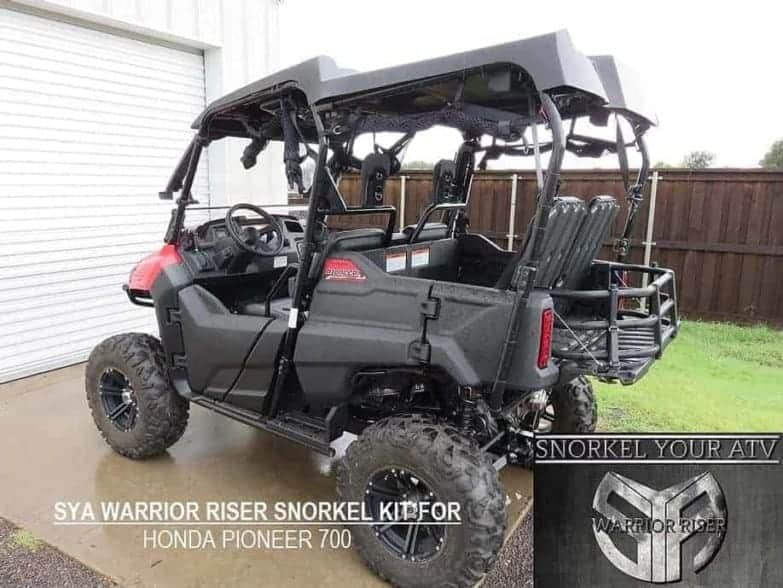 Honda Pioneer 700 Snorkel Kit, Warrior Edition