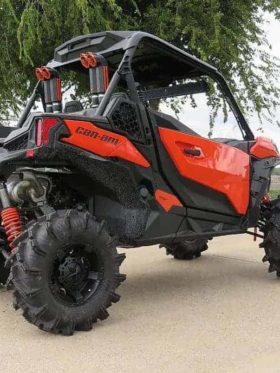 Can-am Maverick Sport Snorkel Kit, Dual Intake Warrior Edition