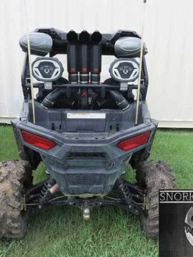 Polaris Rzr S 1000 Snorkel Kit, 3″ Warrior Edition
