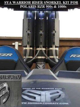 Polaris Rzr 900 Snorkel Kit, 3″ Warrior Edition