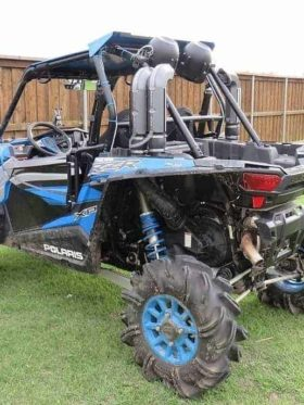 Polaris Rzr Xp Turbo Snorkel Kit, Warrior Edition