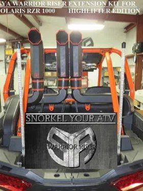 Polaris Rzr Xp High Lifter Snorkel Extensions, Warrior Edition