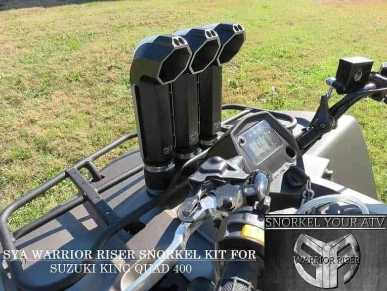 Suzuki King Quad 400 Snorkel Kit, Warrior Edition