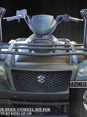 Suzuki King Quad Snorkel Kit, Warrior Edition
