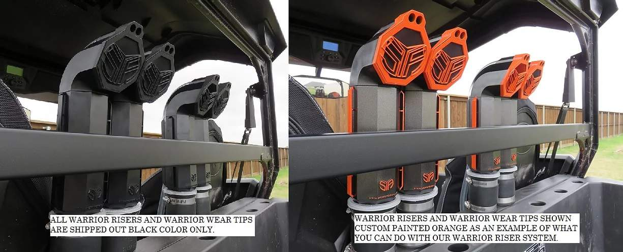 Polaris Sportsman High Lifter Riser Extensions, Warrior Edition