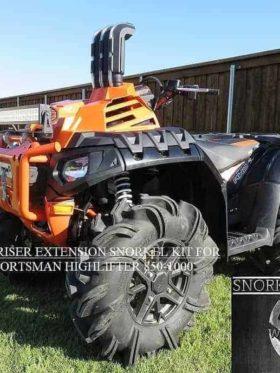 Polaris Sportsman High Lifter Riser Extensions, Warrior Edition