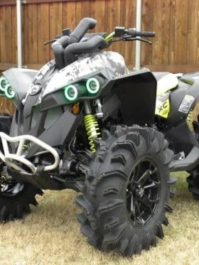 Can-am Renegade Snorkel Kit