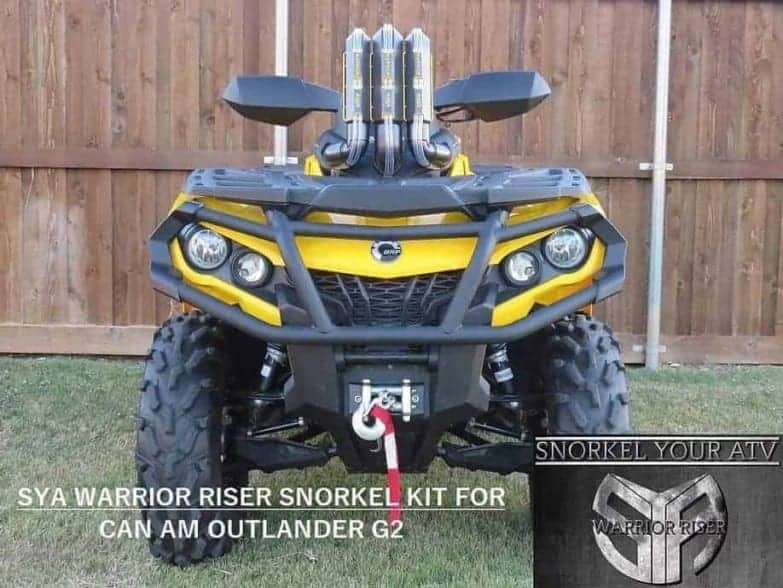 Can-am Outlander Snorkel Kit, G2 Version