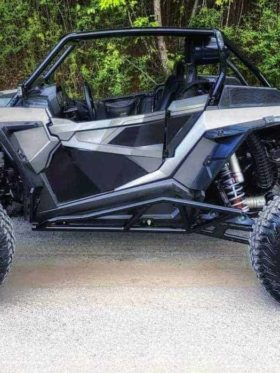 Polaris Rzr Xp 4 Turbo S Tree Kicker, Nerf Bars