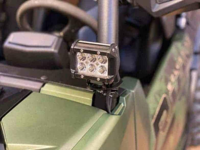 Yamaha Wolverine Rmax Cube Light Mounts