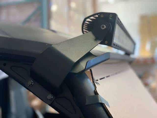 Yamaha Wolverine Rmax Light Bar Mounts