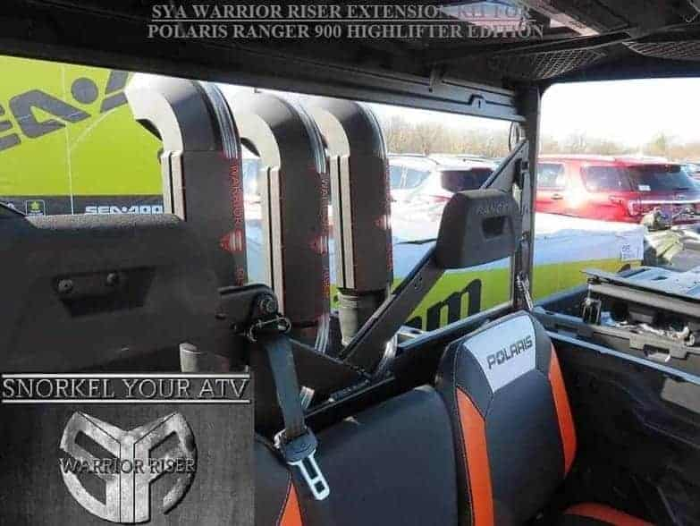 Polaris Ranger Xmr Snorkel Extension Kit, Warrior Edition