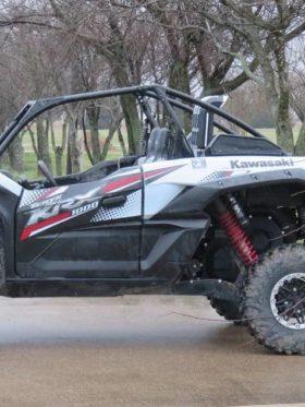Kawasaki Krx 1000 Snorkel Kit, Warrior Edition