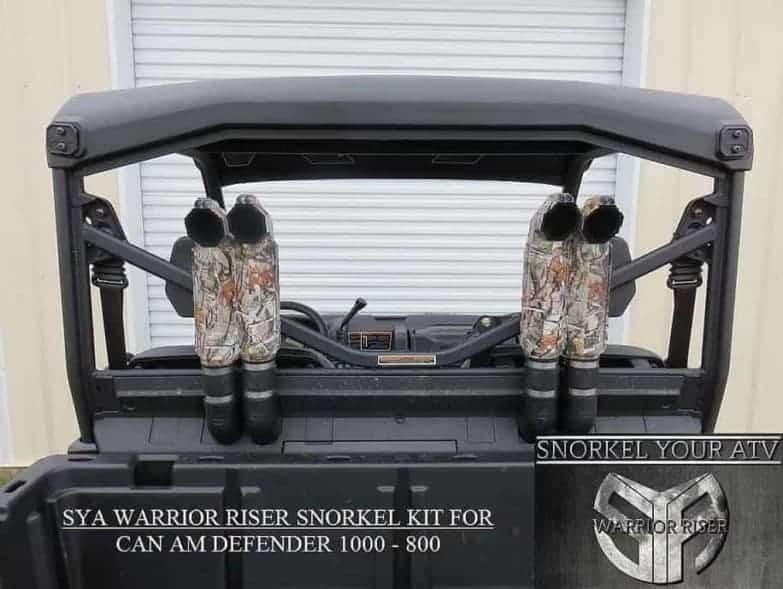 Can-am Defender Snorkel Kit, Warrior Edition