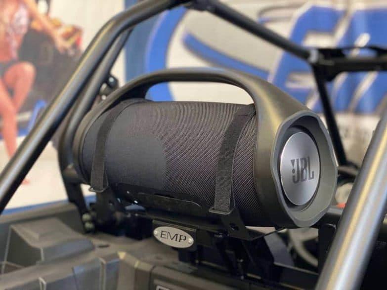 Polaris Rzr Xp Series Between Seat Speaker Boom Box Mount