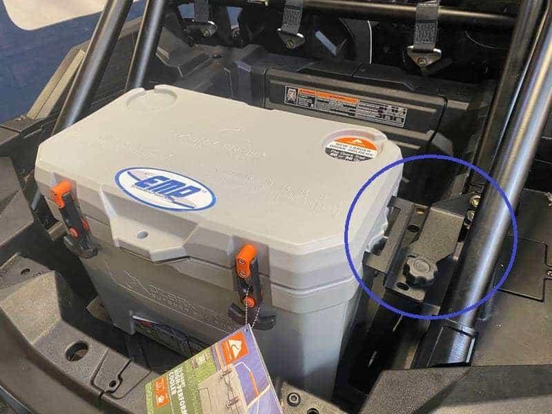 EMP Polaris RZR Cooler Mount Install
