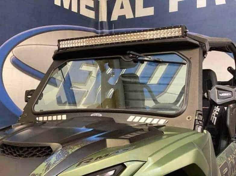 Yamaha Rmax Glass Windshield