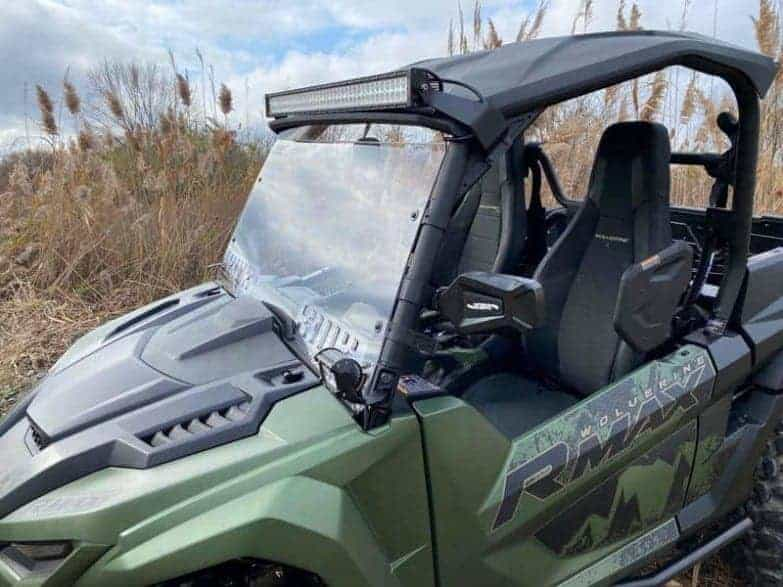 Yamaha Rmax Front Windshield, Poly Edition