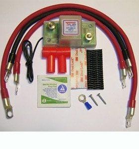 Utv Dual Battery Wiring Kit, Smart Isolator