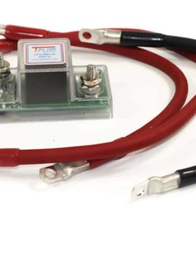 Utv Dual Battery Wiring Kit, Smart Isolator With Meter