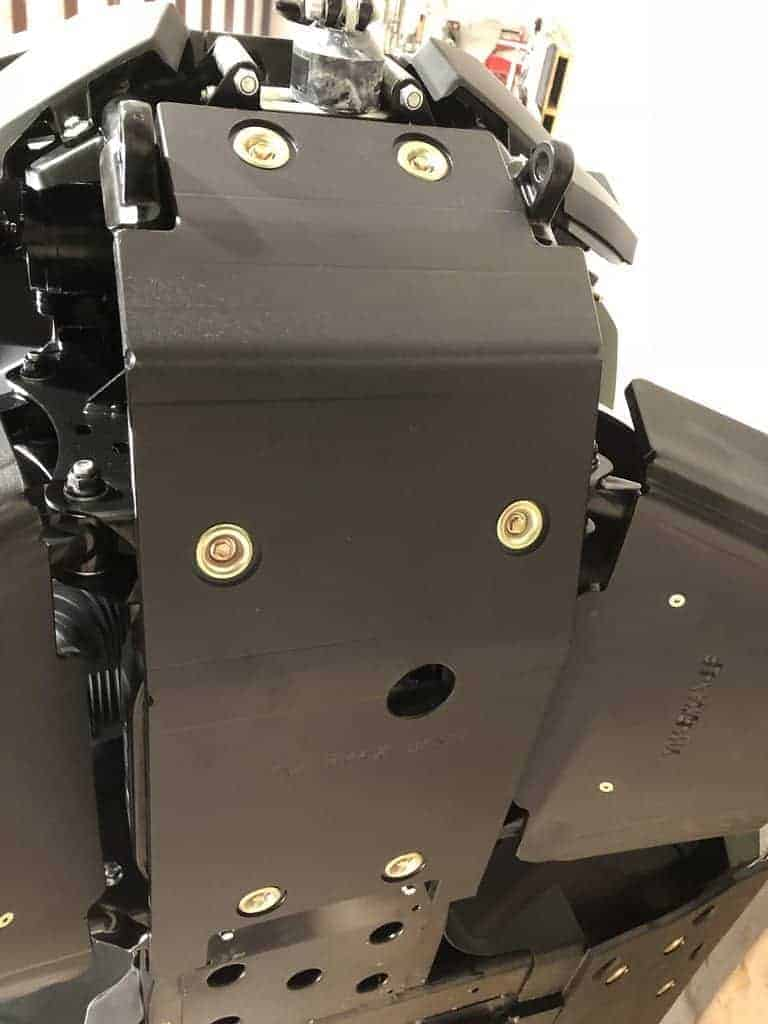Yamaha Wolverine Rmax Bash Plate, Front Protection
