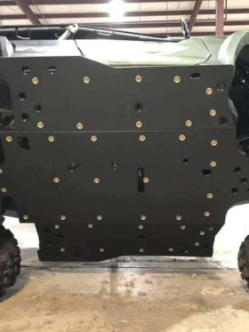 Yamaha Wolverine Rmax4 Skid Plate