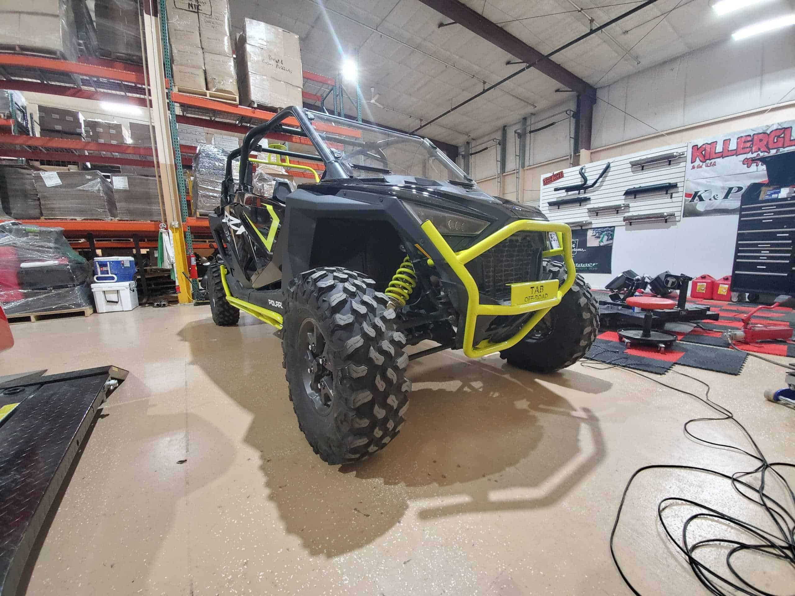 RZR Pro XP Tree Kicker Install