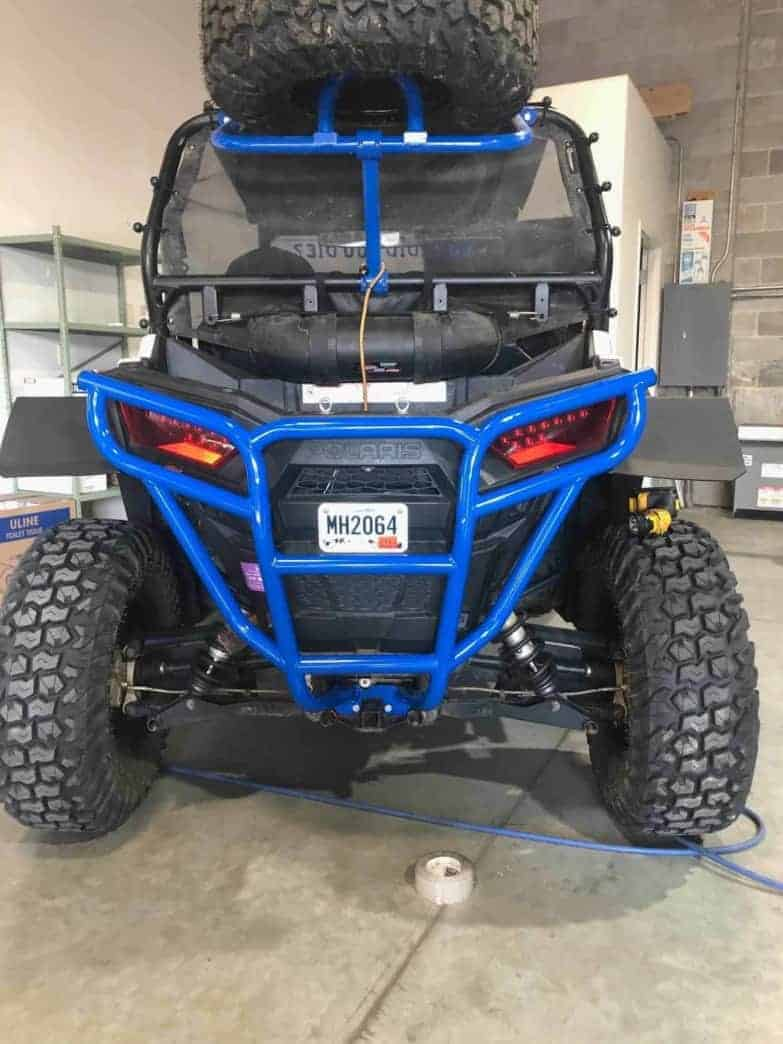 Polaris Rzr Rear Bumper, Trail And Sport
