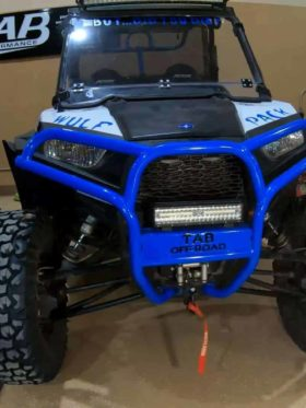 Polaris Rzr Series Front Bumper, Trail And Old Body Style