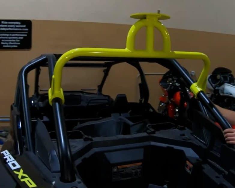 Polaris Rzr Pro Xp Spare Tire Rack