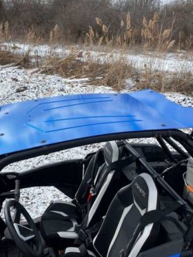Polaris Rzr Xp Turbo S Roof, Full Metal Rally Style