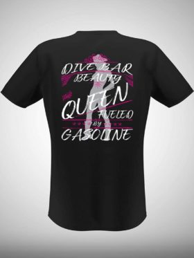 American Off-roads Dive Bar Beauty Queen T-shirt