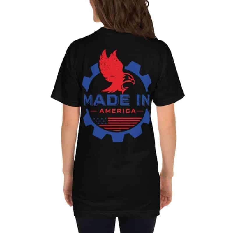 D Cb A Unisex Jersey T Shirt Black Back D C