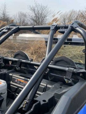 Polaris Rzr Xp Turbo S Rear Window, Dust Guard