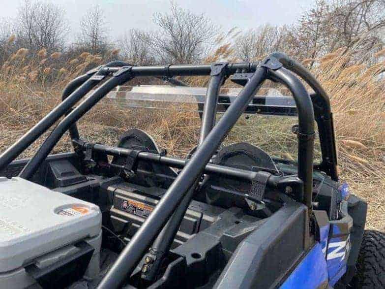Polaris Rzr Xp Turbo S Rear Window, Dust Guard