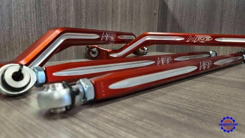 Polaris Rzr Pro Xp Radius Rods, High Clearance Set