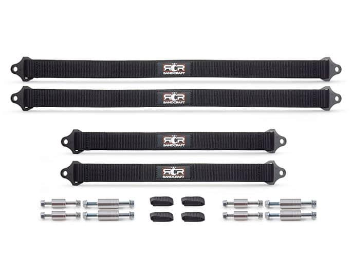 Polaris Rzr Pro Xp Limit Straps, Full Kit
