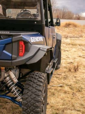 Polaris General Xp Mud Flap Fender Extensions