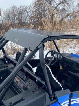 Polaris Rzr Xp Turbo S Roof, Full Metal Low Profile Style