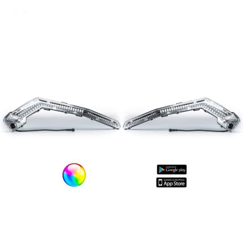 5150 Led 187 Whip Lights, Pair Bluetooth Controlled